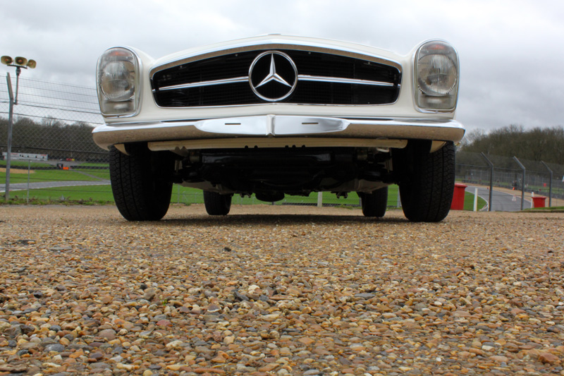 1970 Mercedes-Benz 280 SL Pagoda Automatic Paintwork Correction Treatment