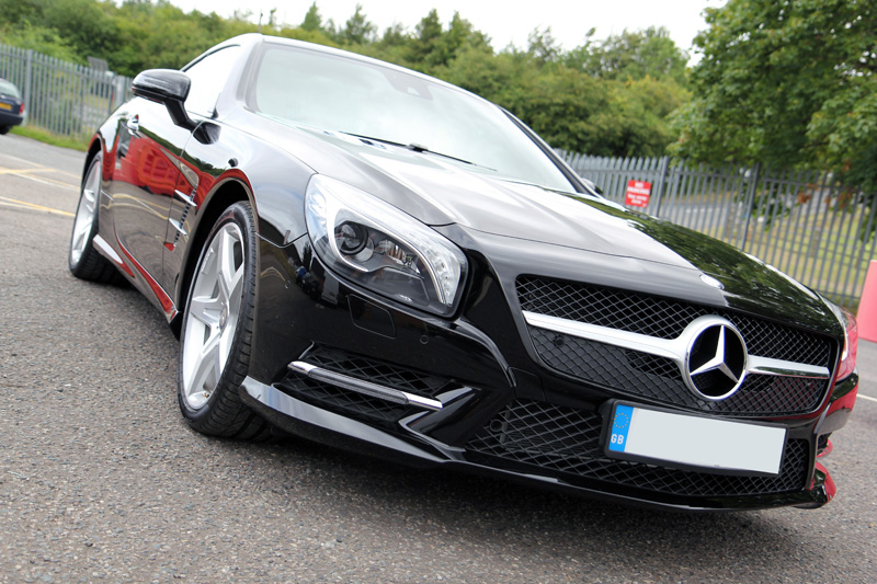 Mercedes Benz SL350 Gloss Enhancement Treatment