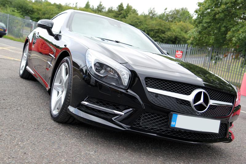 Mercedes Benz SL350 Gloss Enhancement Treatment