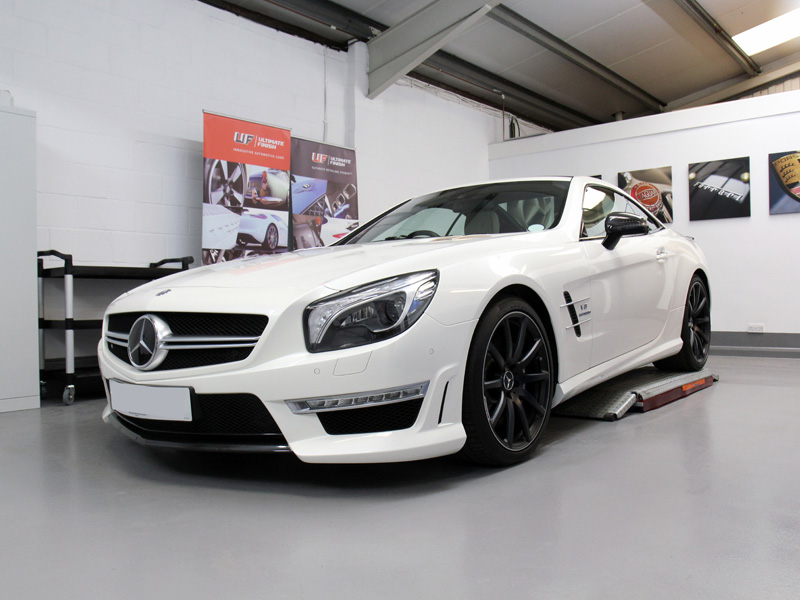 Mercedes Benz SL63 AMG - Gloss Enhancement Treatment