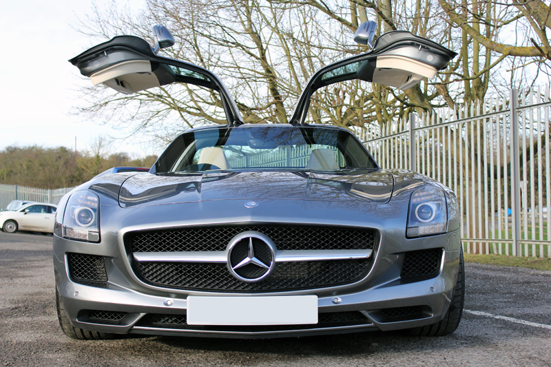 Mercedes-Benz SLS AMG Prepared For Storage