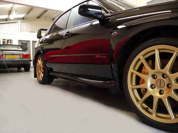 Gtechniq EXO v2 - Ultra durable, high shine protection for Subaru Impreza WRX STi