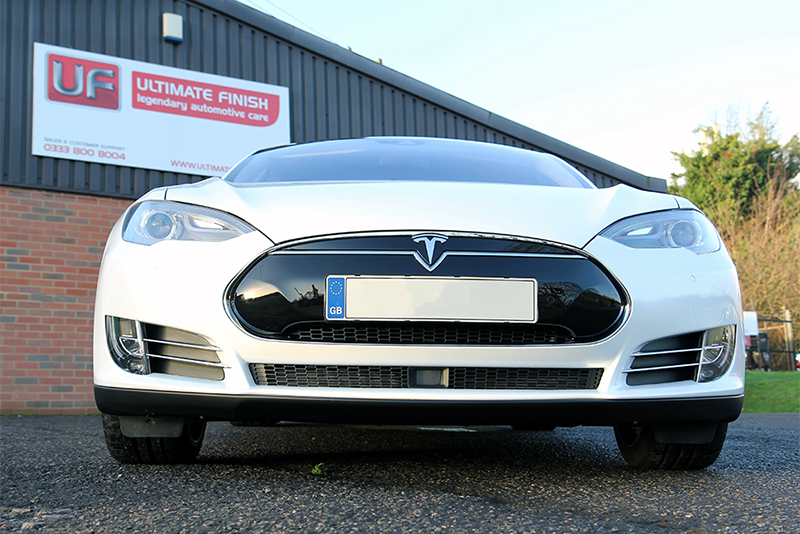 Tesla P90D New Car Protection Package with Gtechniq Crystal Serum Light