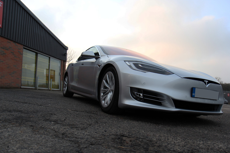 2016 Tesla Model S - New Car Protection Treatment