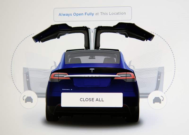 Tesla Model X - New Car Protection Treatment