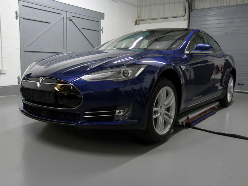 Tesla Model S P90D New Car Protection Treatment