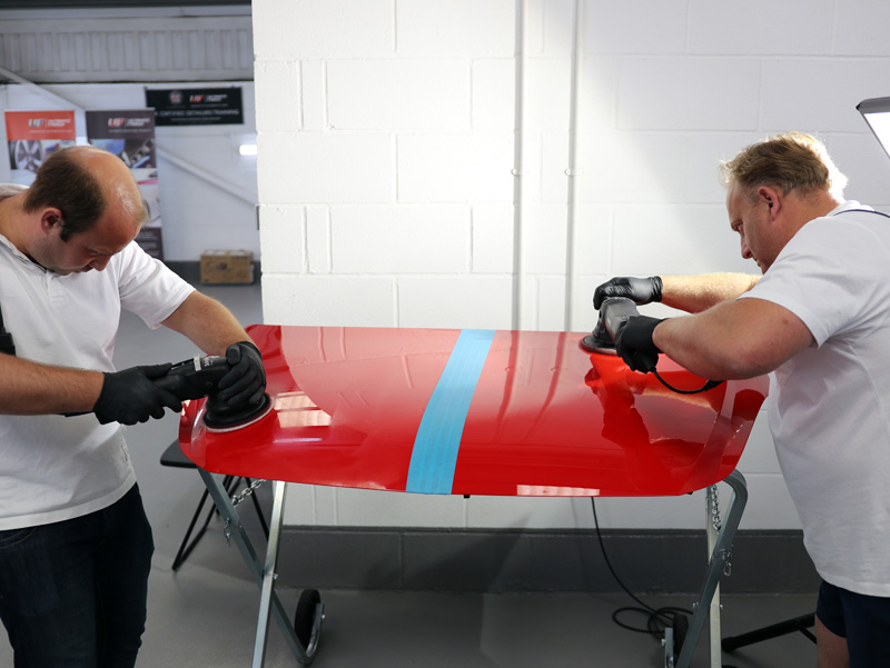 Machine Polishing Advanced Training - 2-Day Training Course at the award-winning UF Studio, Brands Hatch, Kent
