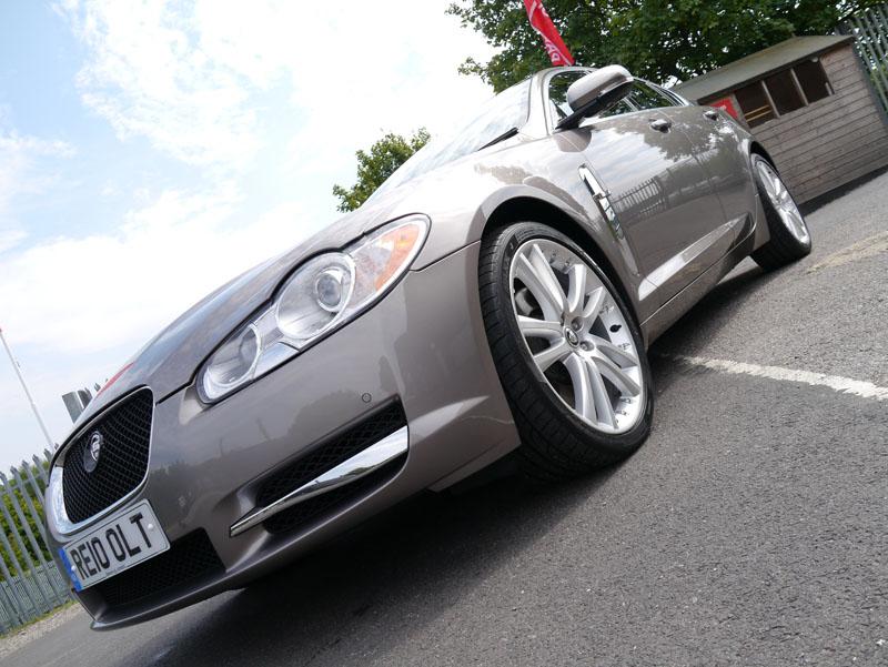 Gloss Enhancement Treatment for Jaguar XF S at Ultimate Detailing Studio