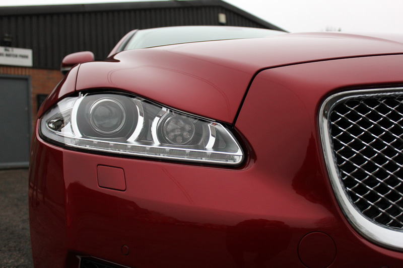 Jaguar XJ L Big Cat Receives New Car Protection Plus!