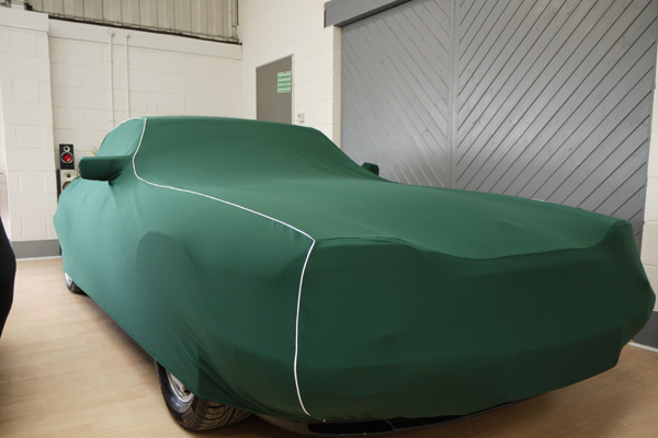 60th Anniversary Jaguar XJS Celebration Edition covered with Prestige fully tailored indoor car cover