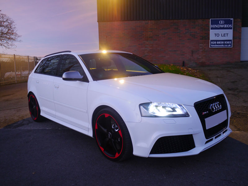 Audi RS3 Sportback - Gloss Enhancement Treatment Plus