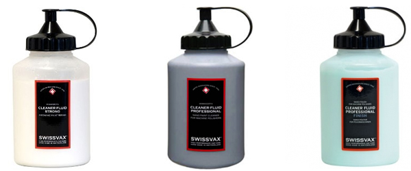 Swissvax range of Cleaner Fluid Professional Machine Polishes from Ultimate Finish