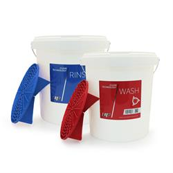 UF Wash & Rinse Bucket Set with Grit Guards