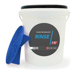 UF Rinse Bucket with Blue Grit Guard & Blue Lid