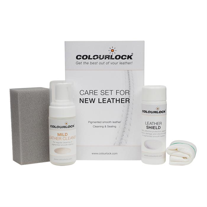 Colourlock New Leather Cleaning & Care Kit (Mild)