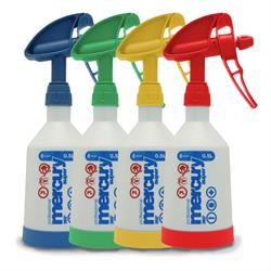 Kwazar Mercury Pro+ Double-Action Trigger Spray Bottle (4 Pack)