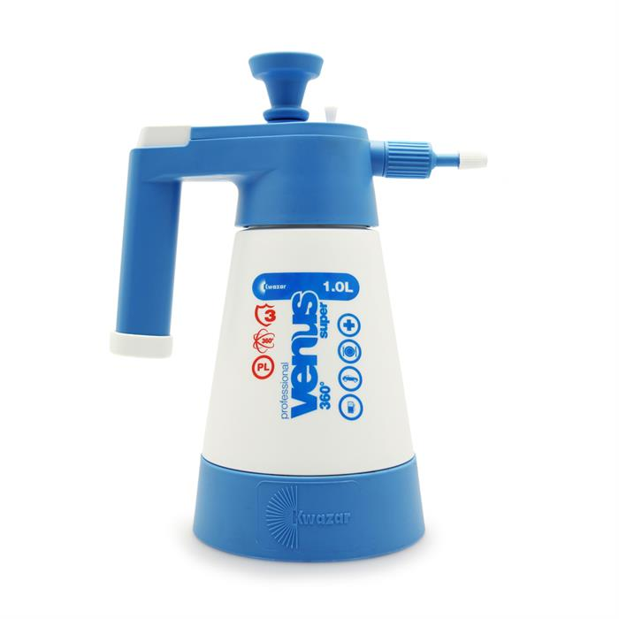 Kwazar Venus Super Pro+ 360 Pump-Up Sprayer (1 Litre)