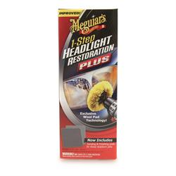 Meguiar's 1 Step Headlight Restoration Kit