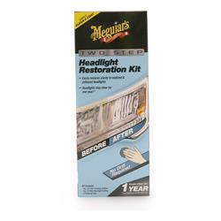 Meguiar's 2 Step Headlight Restoration Kit