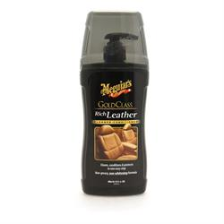 Meguiar's Gold Class Rich Leather Cleaner & Conditioner Gel (400ml)