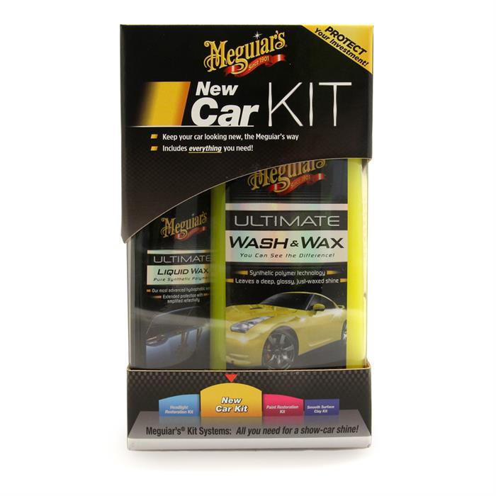 Meguiar's New Car Kit