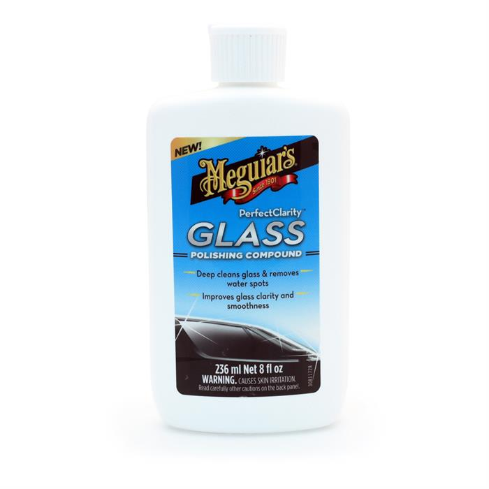 Meguiar's Perfect Clarity Glass Polishing Compound (236ml)