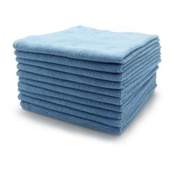 Microfibre Buffing Fleece (Blue) 10 Pack