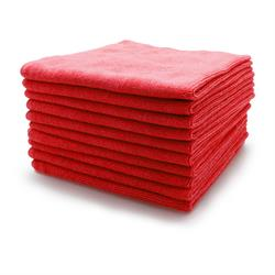 Microfibre Buffing Fleece (Red) 10 Pack