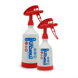 Kwazar Mercury Pro+ Double-Action Trigger Spray Bottle (Red)