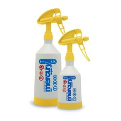Kwazar Mercury Pro+ Double-Action Trigger Spray Bottle (Yellow)