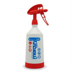 Kwazar 1 Litre Mercury Pro+ Double-Action Trigger Spray (Red)