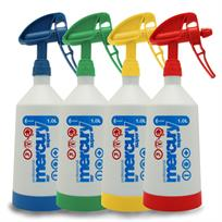 Kwazar 4 x 1 Litre Mercury Pro+ Double-Action Trigger Spray Pack