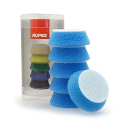 "RUPES 40mm (1.5"") 6 Pack Polishing Pads (Blue)"