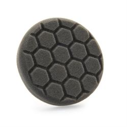 "Chemical Guys 100mm (4"") HEX-LOGIC Black Finishing Pad"