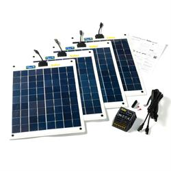 Solar Technology 80W Solar Panel Roof Top Kit - Master