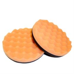 SCHOLL Concepts 5.75 Inch / 145mm Orange Sandwich Waffle Pad