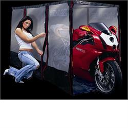 Air Chamber for Motorcycles