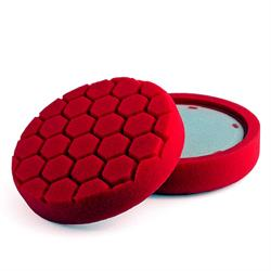 Flexipads World Class Pro-Detail Red Glazing Pad 6""