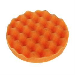"Koch-Chemie 160mm (6.3"") Anti-Hologram Pad - Orange Waffle"