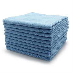Microfibre Buffing Fleece 40 x 40cm (Blue 10 Pack)