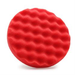 "Flexipads World Class 150mm (6"") Coolshine Polishing Pad (Red)"