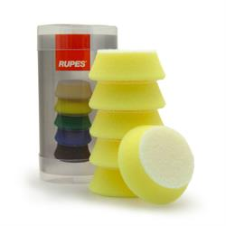 "RUPES 40mm (1.5"") Polishing Pads (Yellow) 6 Pack"