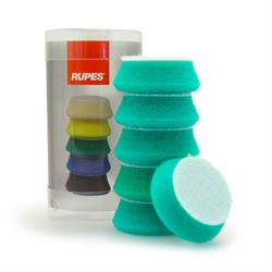 "RUPES 40mm (1.5"") 6 Pack Polishing Pads (Green)"