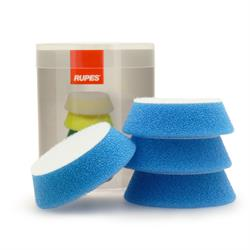 "RUPES 70mm (3"") 4 Pack Polishing Pads (Blue)"