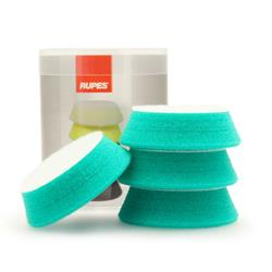 "RUPES 70mm (3"") 4 Pack Polishing Pads (Green)"
