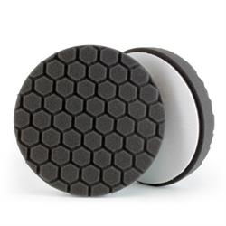 "Chemical Guys 165mm (6.5"") HEX-LOGIC Black Finishing Pad"