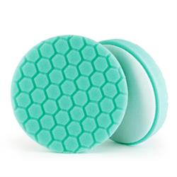 "Chemical Guys 165mm (6.5"") HEX-LOGIC Green Minor Scratch & Swirl Remover Pad"