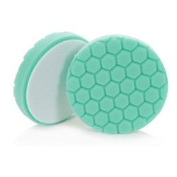 "Chemical Guys 135mm (5.5"") HEX-LOGIC Green Minor Scratch & Swirl Remover Pad"