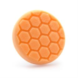 "Chemical Guys 100mm (4"") HEX-LOGIC Orange Scratch & Swirl Remover Pad"