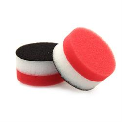 "FLEX 40mm (2"") Red Soft Polishing Pad (2 Pack)"